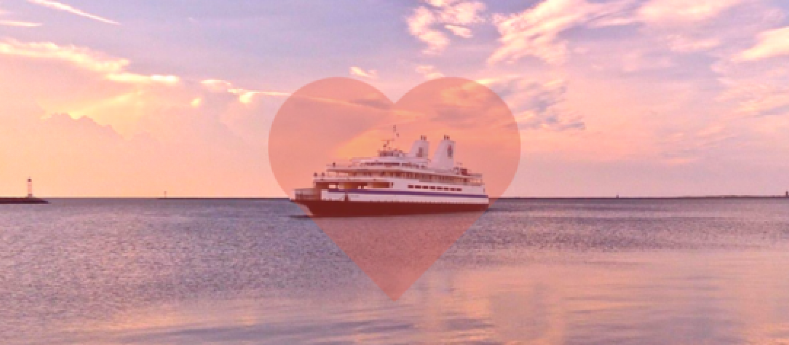 Valentine's Day on the Cape May Lewes Ferry
