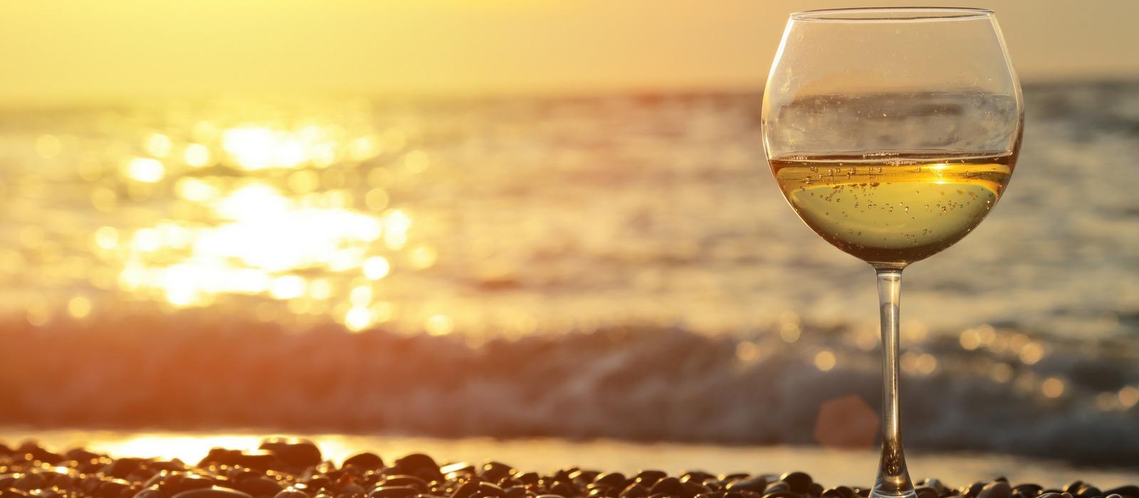 Drinking On The Beach