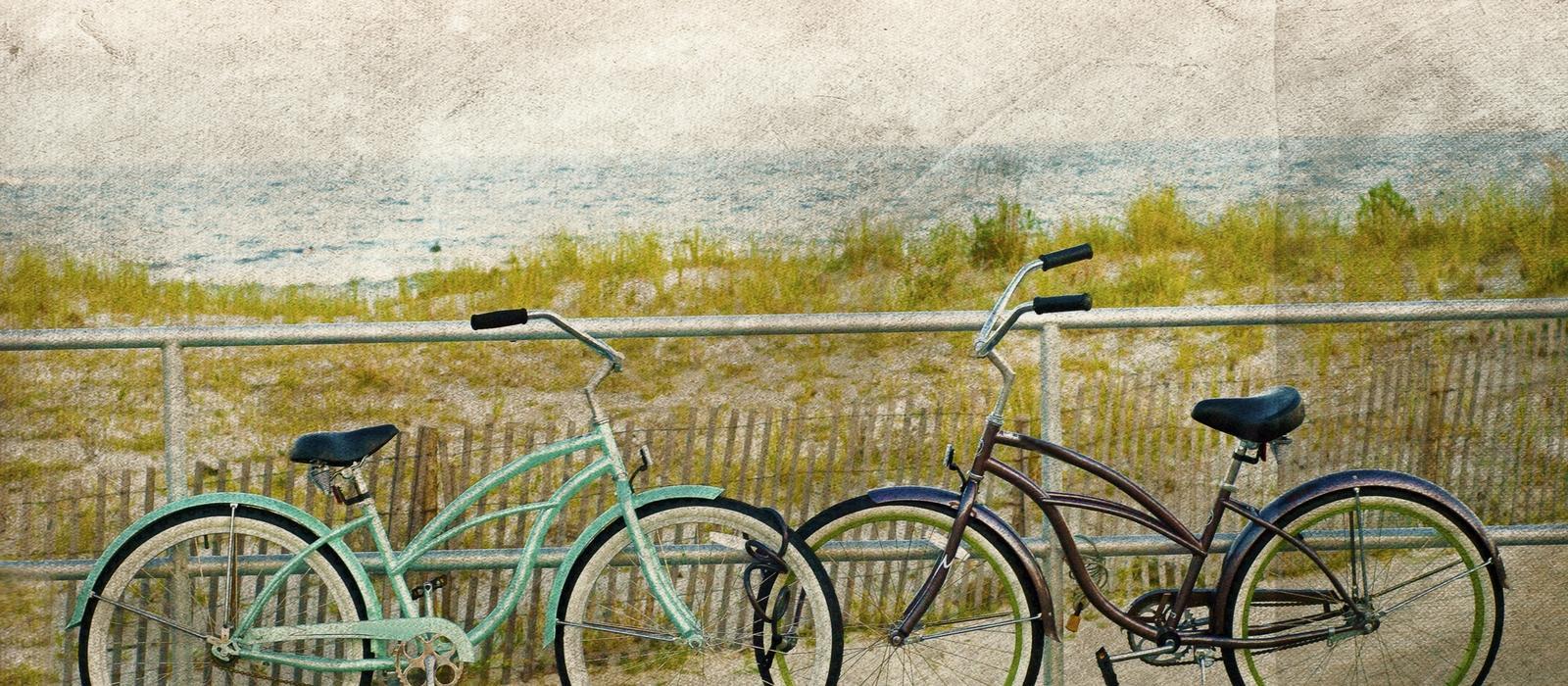 Bikes On The Boardwalk
