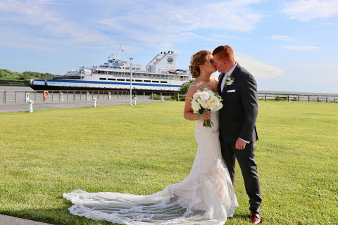 wedding at the cape may lewes ferry