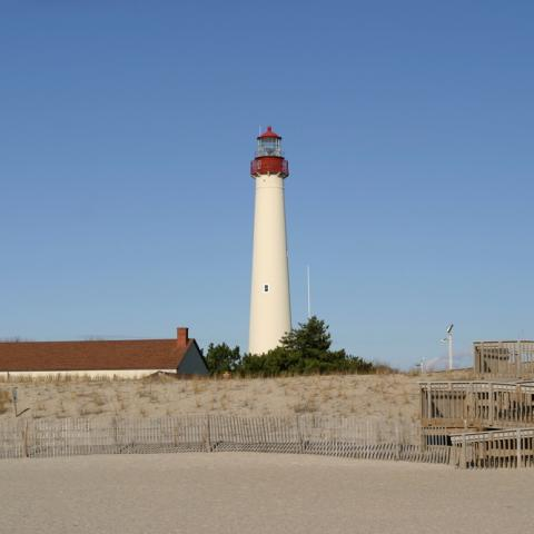 Cape May Lighthouse and Beach