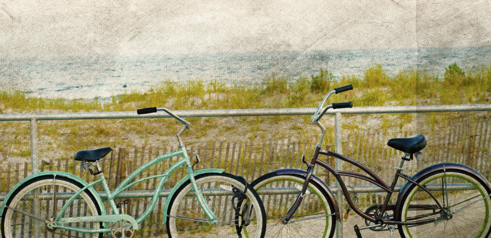 Bikes On The Boardwalk