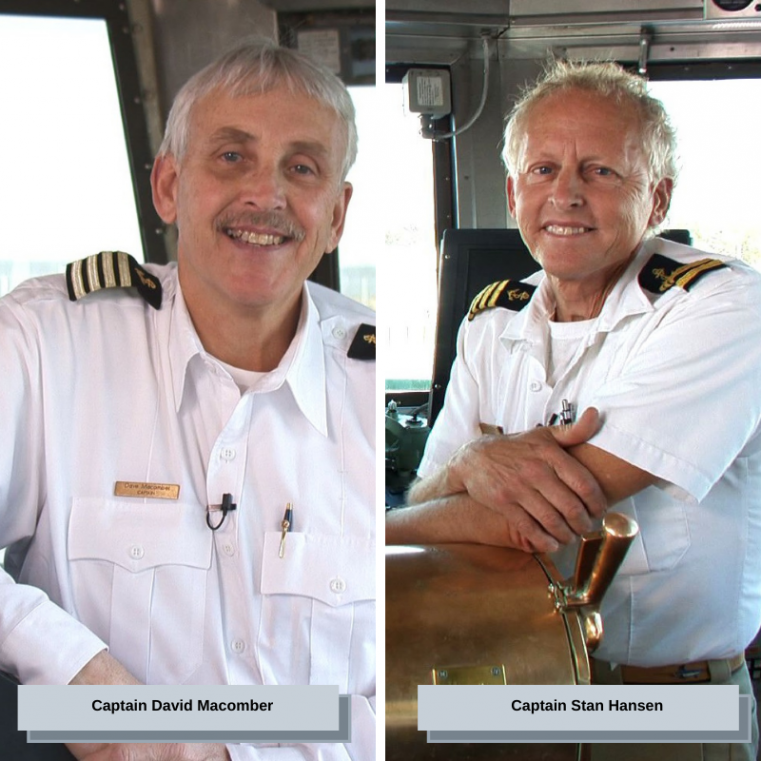 Ferry Facts: Captains Then & Now