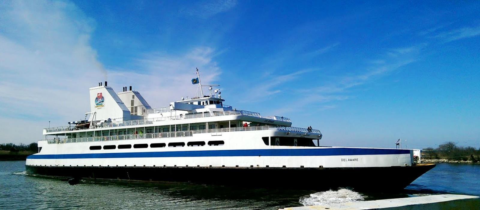 cape may-lewes ferry | passenger & car ferry across the delaware bay