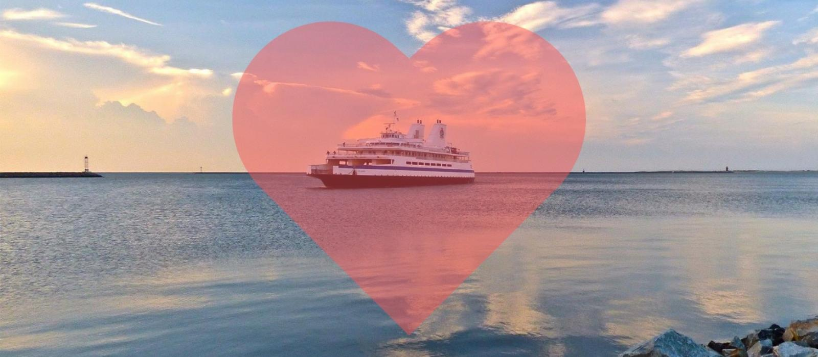 Cape May Lewes Ferry Valentines Day