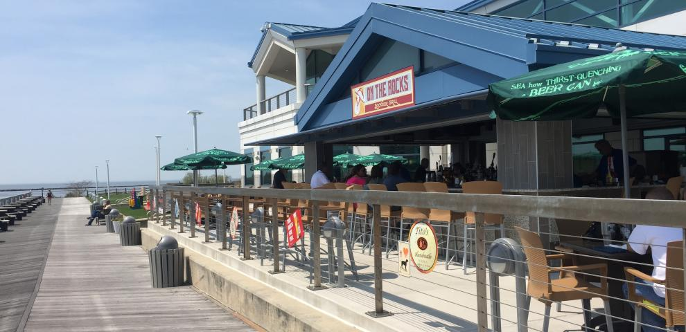 On the Rocks Cape May Happy Hour Menu